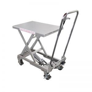 BSA10 Alumiini / käsisaksinen ruostumattomasta teräksestä valmistettu nostopöytä