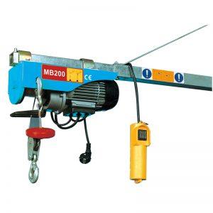 MB200 Mini Electric Nostolaite, sähkövipuinen nostin